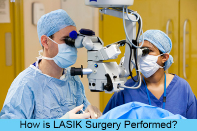 How is LASIK Surgery Performed?